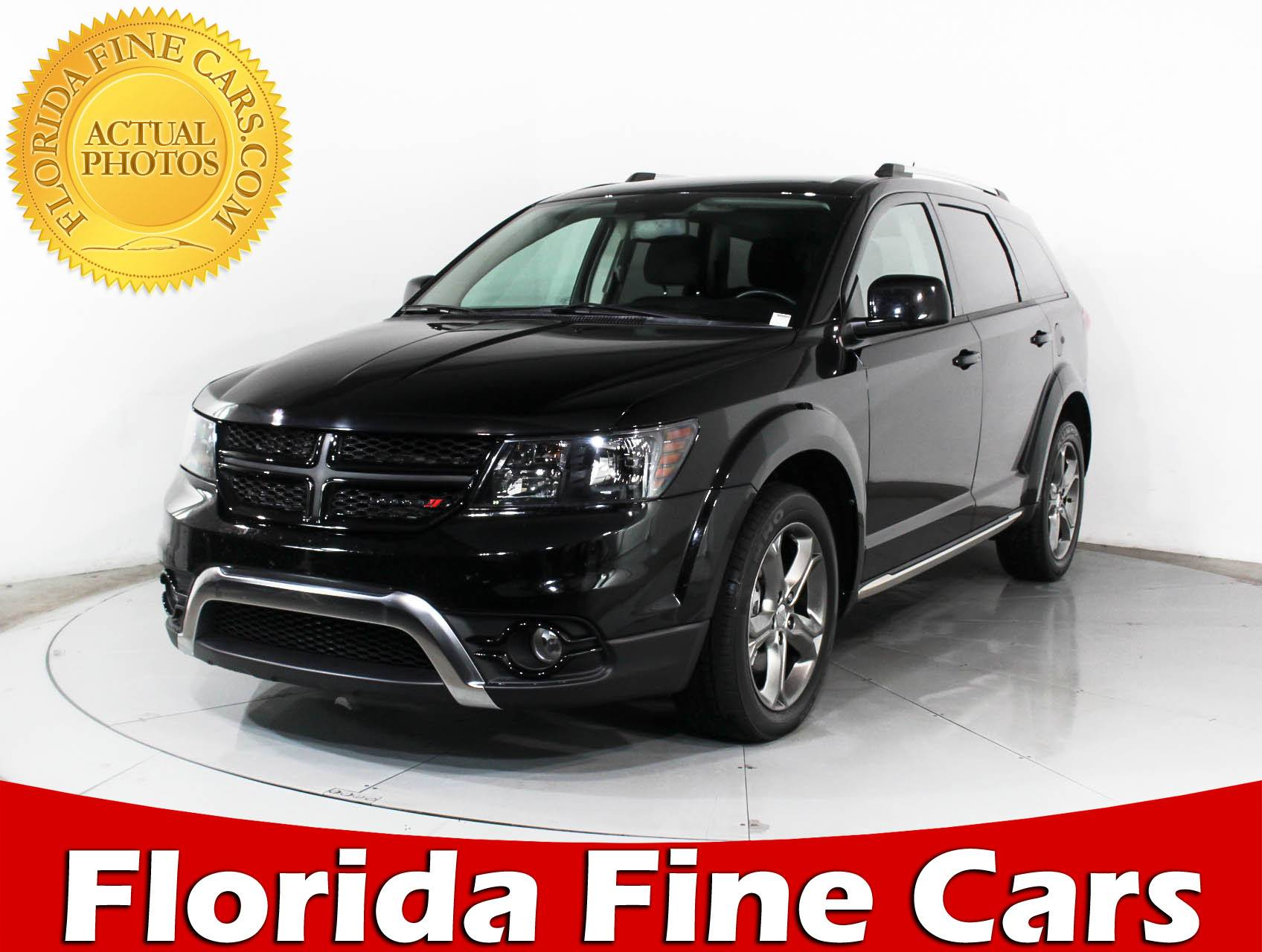 Used 2016 DODGE JOURNEY CROSSROAD SUV for sale in HOLLYWOOD FL