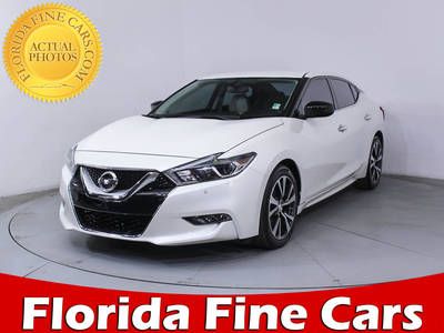 Used NISSAN MAXIMA 2017 HOLLYWOOD SV