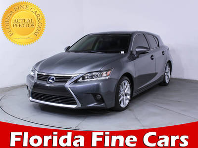 Used LEXUS CT-200H 2015 MIAMI