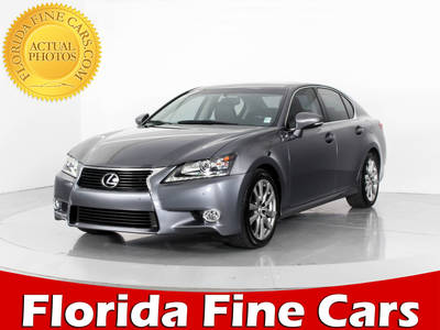 Used LEXUS GS-350 2014 WEST PALM