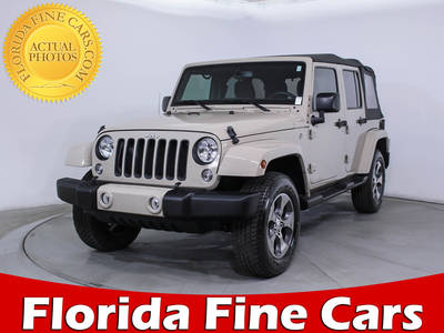 Used JEEP WRANGLER-UNLIMITED 2016 MARGATE SAHARA