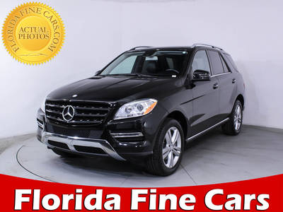 Used MERCEDES-BENZ M-CLASS 2014 MIAMI ML350