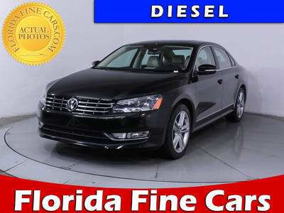 Used VOLKSWAGEN PASSAT 2015 HOLLYWOOD TDI SEL PREMIUM