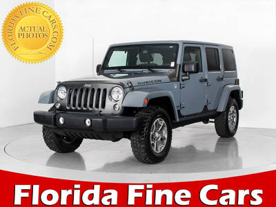 Used JEEP WRANGLER-UNLIMITED 2014 WEST PALM RUBICON