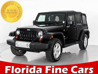 Used JEEP WRANGLER-UNLIMITED 2013 MARGATE SAHARA