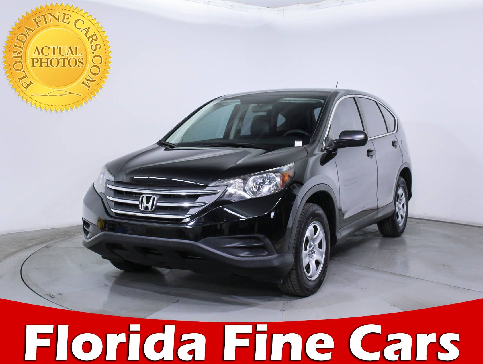 Used 2014 HONDA CR V LX SUV For Sale In HOLLYWOOD, FL | 89034 | Florida  Fine Cars