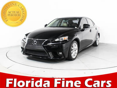 Used LEXUS IS-250 2015 WEST PALM