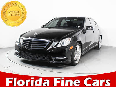 Used MERCEDES-BENZ E-CLASS 2013 HOLLYWOOD E350 4MATIC