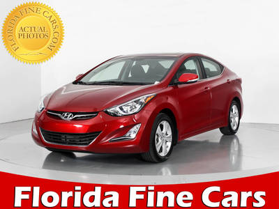 Used HYUNDAI ELANTRA 2016 WEST PALM Value Edition