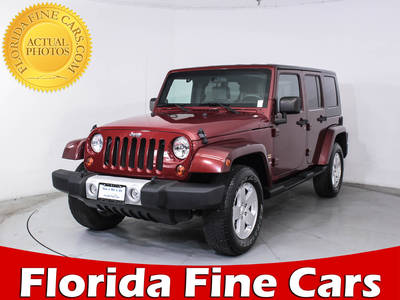 Used JEEP WRANGLER-UNLIMITED 2010 MIAMI SAHARA