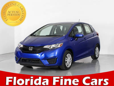 Used HONDA FIT 2016 WEST PALM LX