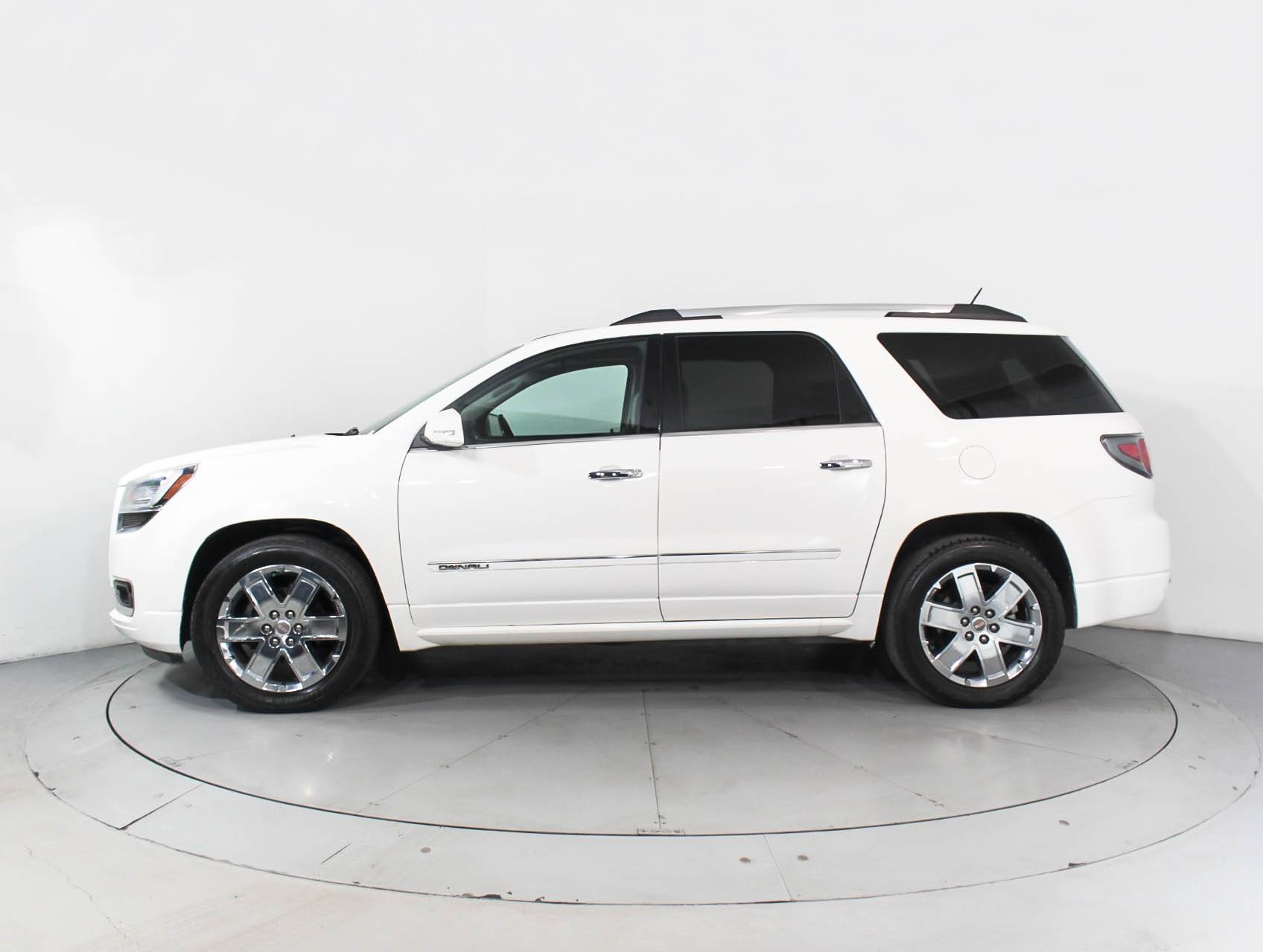 Used 2014 Gmc Acadia Denali Suv For Sale In Hollywood Fl 89319 Florida Fine Cars