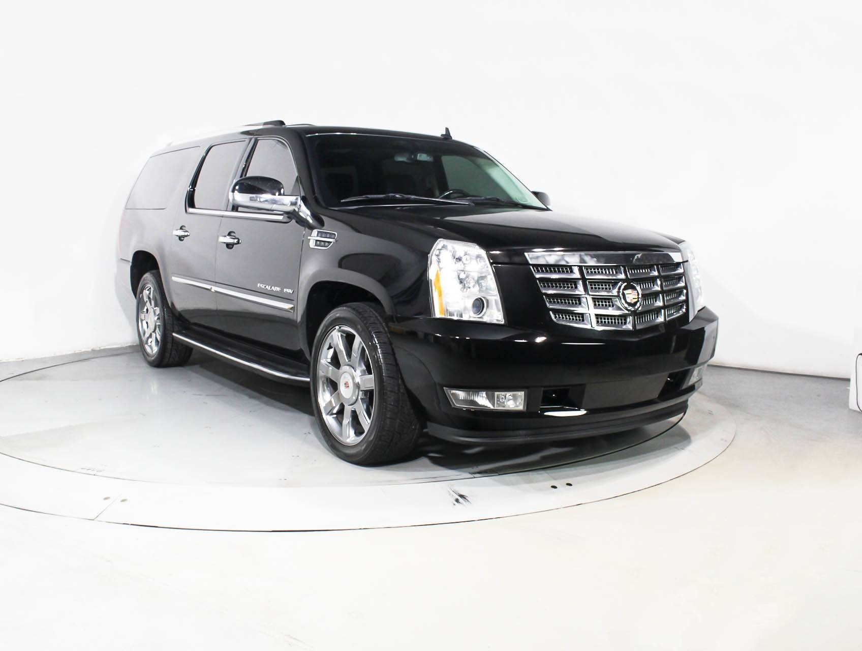 Used 2013 CADILLAC ESCALADE ESV LUXURY SUV for sale in WEST PALM FL