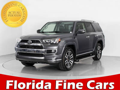 Used TOYOTA 4RUNNER 2014 WEST PALM LIMITED