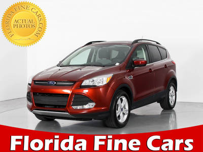 Used FORD ESCAPE 2015 WEST PALM Ecoboost Se