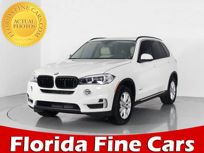 Used BMW X5 2015 WEST PALM SDRIVE35I