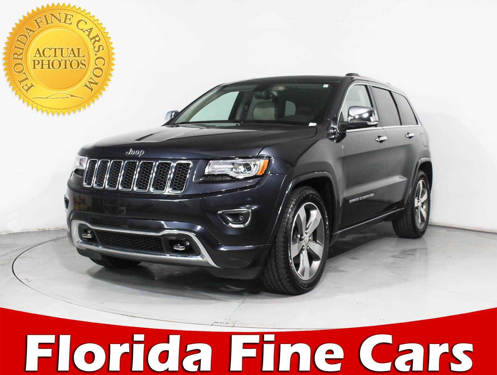 Used 2015 JEEP GRAND CHEROKEE OVERLAND SUV for sale in MIAMI FL