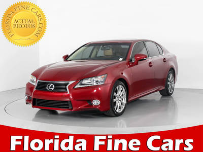 Used LEXUS GS-350 2013 WEST PALM