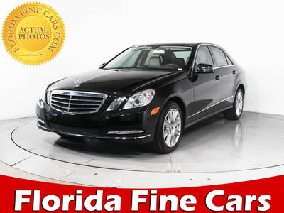Used MERCEDES-BENZ E-CLASS 2012 WEST PALM E350
