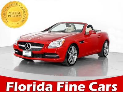 Used MERCEDES-BENZ SLK-CLASS 2015 WEST PALM SLK250