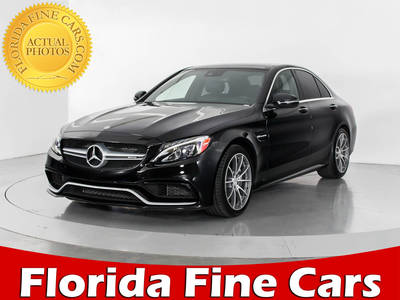 Used MERCEDES-BENZ C-CLASS 2016 WEST PALM C63 AMG