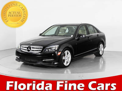 Used MERCEDES-BENZ C-CLASS 2011 WEST PALM C300 4MATIC