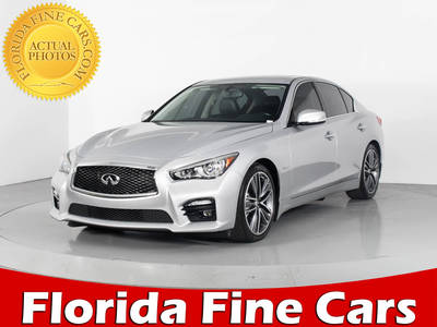 Used INFINITI Q50S 2014 WEST PALM HYBRID SPORT