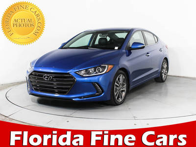 Used HYUNDAI ELANTRA 2017 HOLLYWOOD Limited