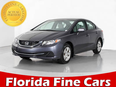 Used HONDA CIVIC 2014 WEST PALM LX