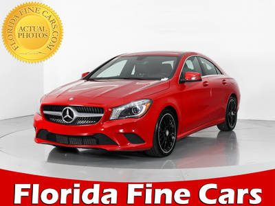 Used MERCEDES-BENZ CLA-CLASS 2014 WEST PALM CLA250