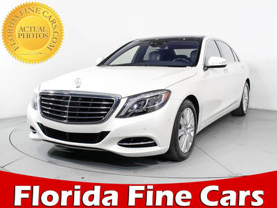 Used MERCEDES-BENZ S-CLASS 2015 MIAMI S550 4MATIC