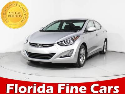 Used HYUNDAI ELANTRA 2014 HOLLYWOOD Se