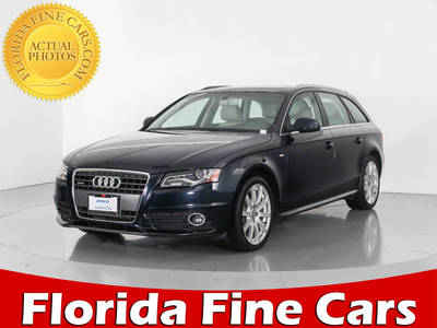 Used AUDI A4 2012 WEST PALM PREMIUM PLUS
