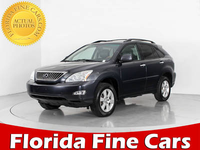 Used LEXUS RX-350 2009 HOLLYWOOD BASE