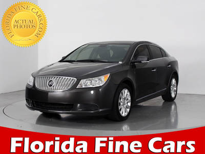 Used BUICK LACROSSE 2013 WEST PALM LEATHER