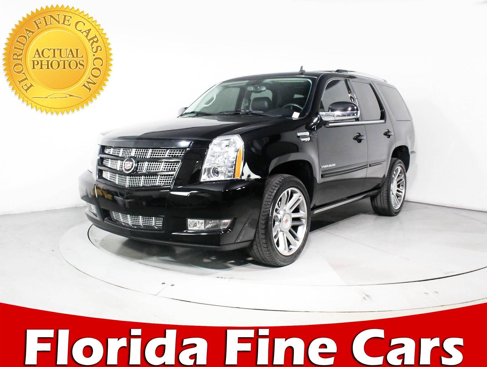 Used 2014 Cadillac Escalade Premium Suv For Sale In Miami Fl