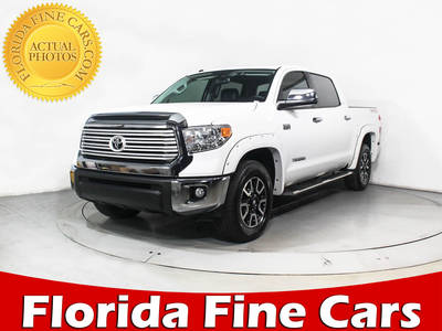 Used TOYOTA TUNDRA 2016 MARGATE Limited Crewmax 4x4