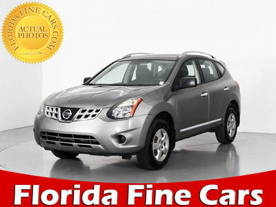 Used NISSAN ROGUE-SELECT 2014 WEST PALM S