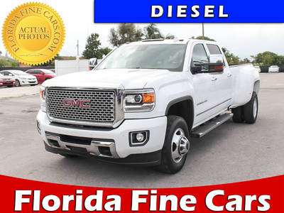 Used GMC SIERRA 2016 HOLLYWOOD Denali 3500hd 4x4