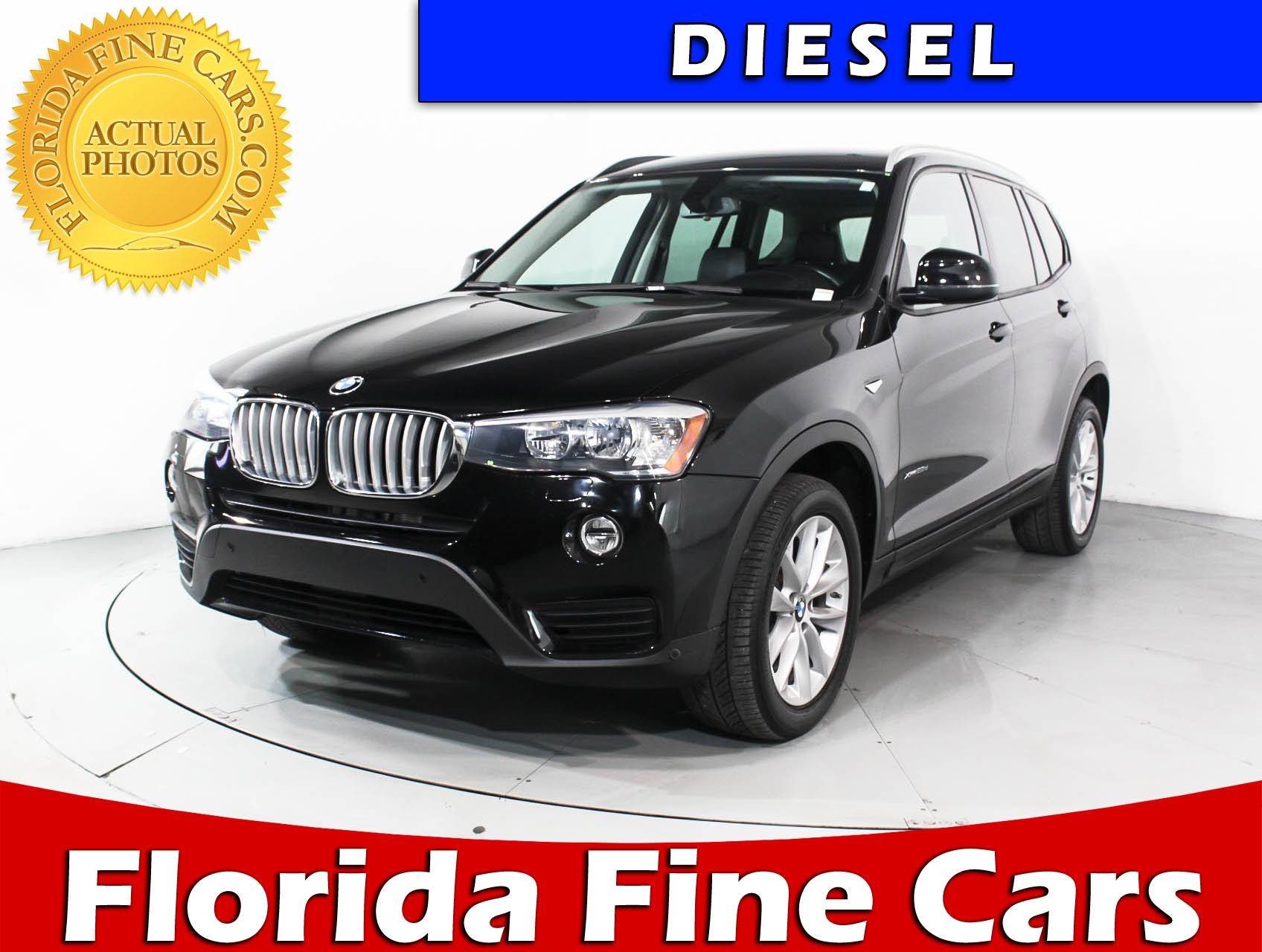 used 2016 bmw x3 xdrive28d suv for sale in miami fl. Black Bedroom Furniture Sets. Home Design Ideas