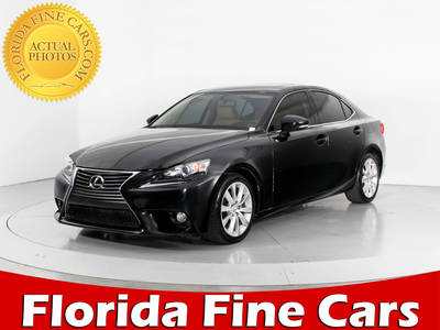Used LEXUS IS-250 2014 MARGATE