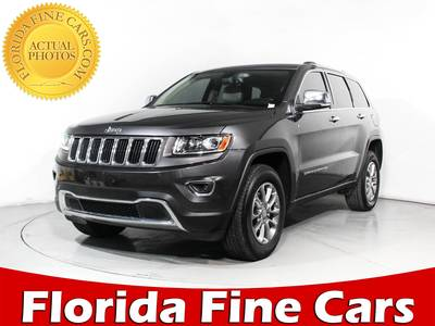 Used JEEP GRAND-CHEROKEE 2014 MARGATE Limited 4wd