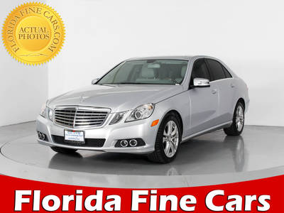 Used MERCEDES-BENZ E-CLASS 2011 WEST PALM E350 4MATIC