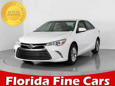 Used TOYOTA CAMRY 2017 MIAMI Le