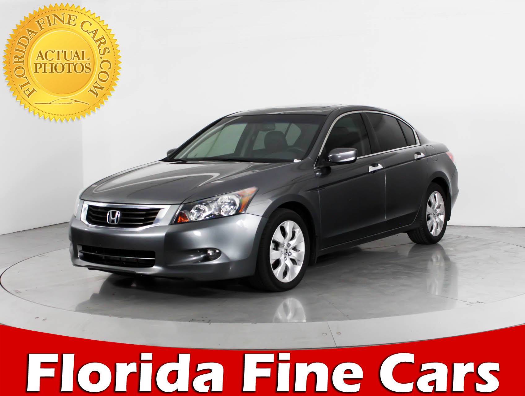 Used 2010 HONDA ACCORD EX L Sedan For Sale In WEST PALM, FL | 89930 |  Florida Fine Cars