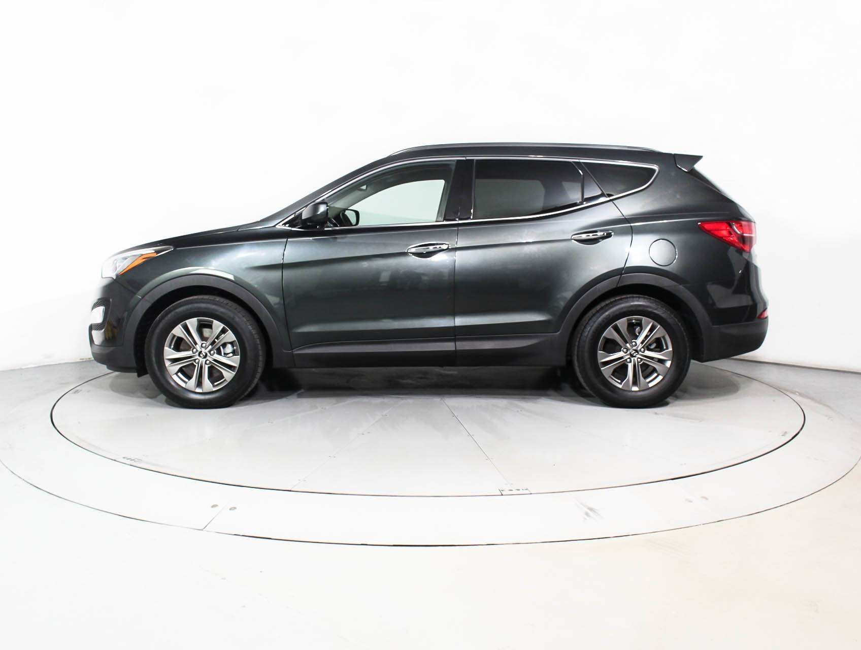 Used 2014 HYUNDAI SANTA FE SPORT SUV for sale in HOLLYWOOD, FL