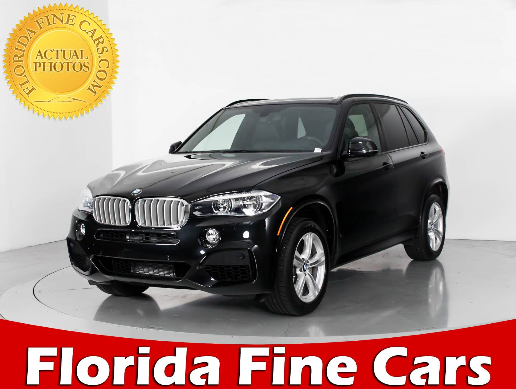 Used 2015 BMW X5 Xdrive50i M Sport SUV For Sale In WEST PALM FL