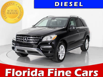 Used MERCEDES-BENZ M-CLASS 2015 WEST PALM ML250 BLUETEC