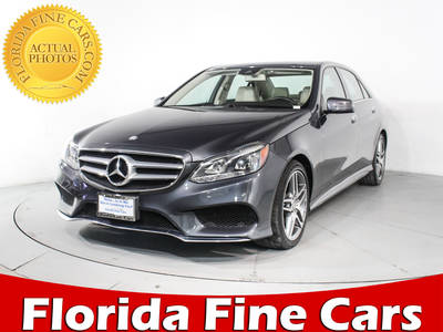 Used MERCEDES-BENZ E-CLASS 2015 HOLLYWOOD E350 4matic Sport