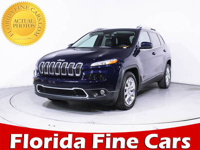 Used JEEP CHEROKEE 2015 WEST PALM LIMITED